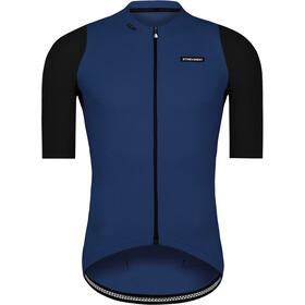 Etxeondo Alde Koszulka rowerowa z zamkiem błyskawicznym Mężczyźni, czarny/niebieski